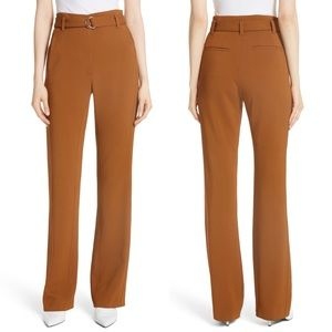 A.L.C. Morgan High-Waisted Belted Flare Pants